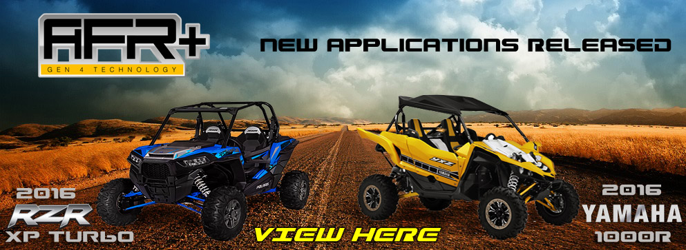 AFR+ for Polaris RZR XP Turbo and Yamaha YXZ 1000R